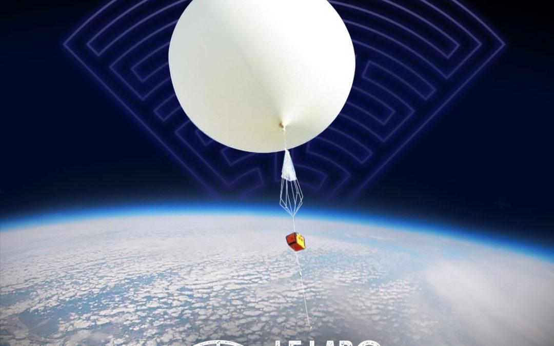 Quentin, 15 ans fait décoller son blob pour la stratosphère